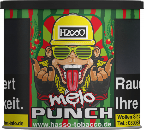 Hasso Tabak - Melo Punch (200g)