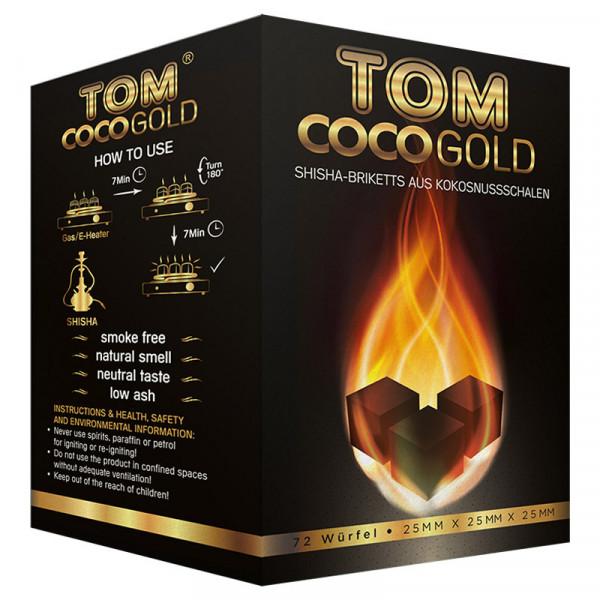 TOM Coco Gold Kokoskohle 1kg 25mm