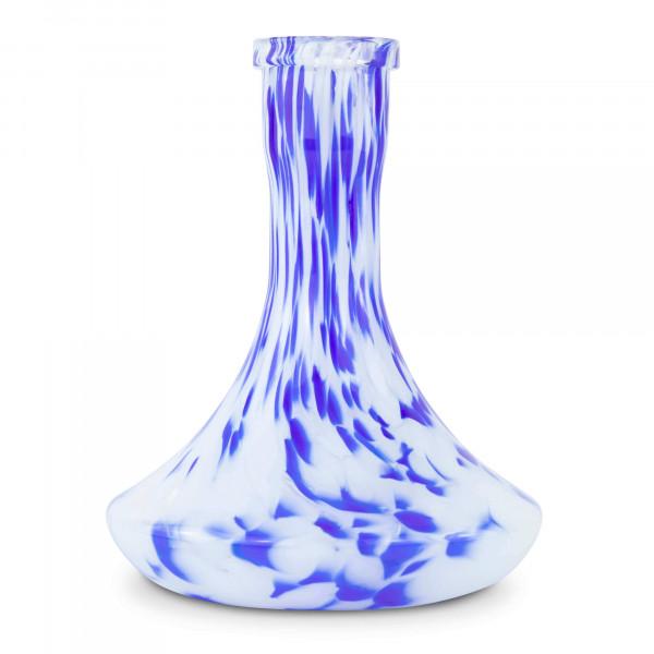 Moze Steck-Bowl Dotted White Blue
