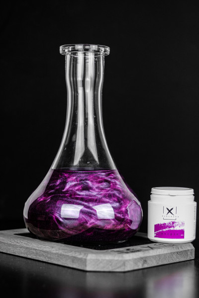 X Schischa Sparkle Purple