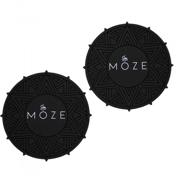 Moze Getränkeuntersetzer (2er Set) - Black/White