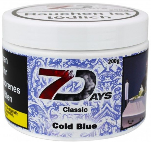 7Days - Classic Cold Blue 200g