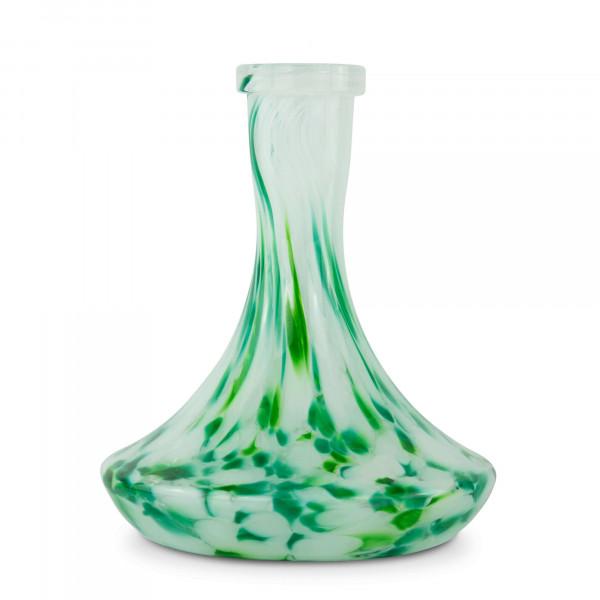 Moze Steck-Bowl Dotted White Green