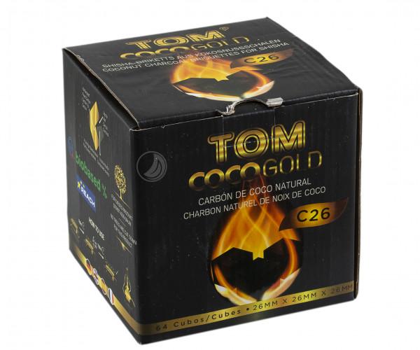TOM Coco Gold Kokoskohle 1kg