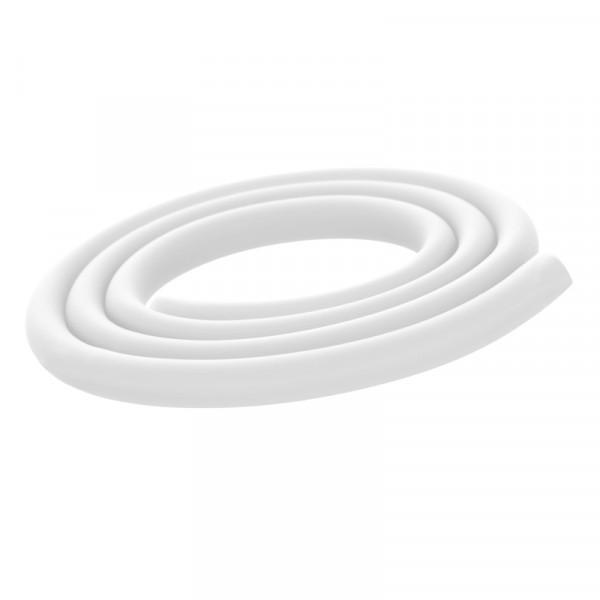 Silikonschlauch Weiß